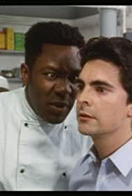 Lenny Henry and Andrew Raven in Chef! (1993)