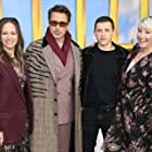 Robert Downey Jr., Emma Thompson, Susan Downey, and Tom Holland at an event for Dolittle (2020)