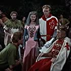 Patrick Holt, Jack McNaughton, Eileen Moore, Don Taylor, and John Kerr in The Men of Sherwood Forest (1954)