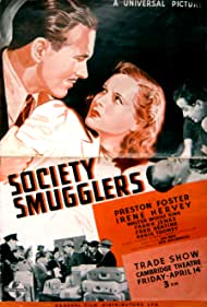 Preston Foster, Irene Hervey, and Walter Woolf King in Society Smugglers (1939)