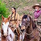 Steve Buscemi and Marisa Quintanilla in Oregon Trail: White Savior (2021)