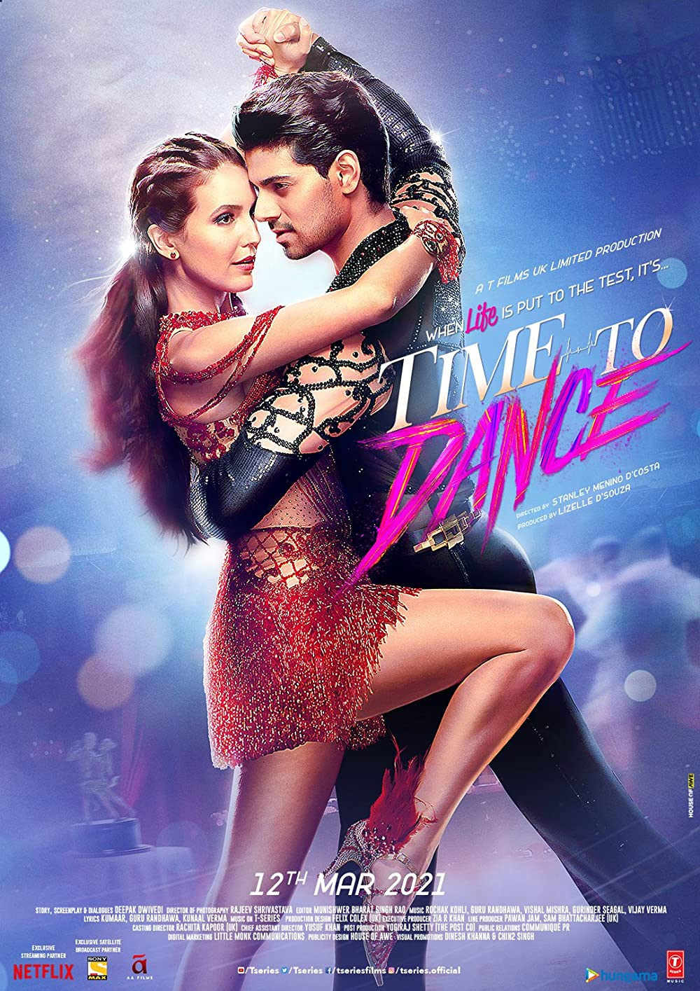 Time to Dance 2021 Hindi Movie 720p NF HDRip ESubs 1.11GB Download