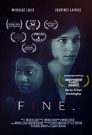Fine. Poster