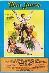 Tom Jones (1963) Poster - Movie Forum, Cast, Reviews