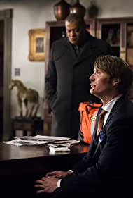 Laurence Fishburne and Mads Mikkelsen in Hannibal (2013)