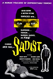The Sadist(1963) Poster - Movie Forum, Cast, Reviews