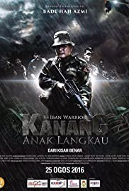 Kanang Anak Langkau The Iban Warrior Poster
