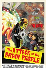 The Attack of the Brain People Poster