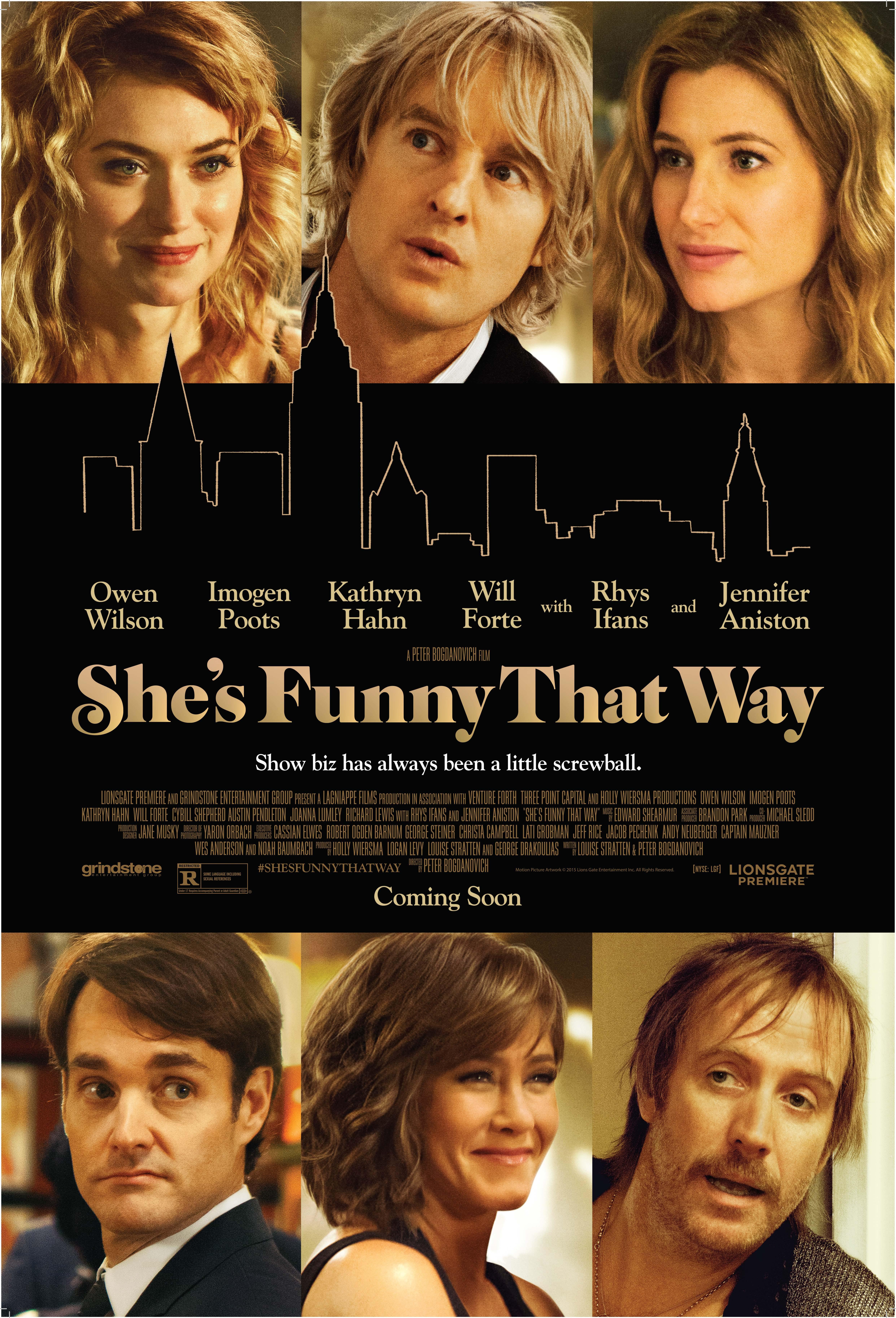 She's Funny That Way (2014) - IMDb
