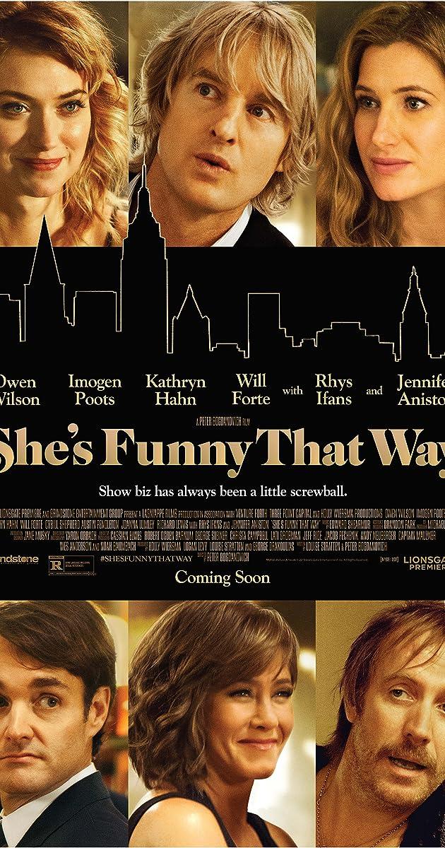 Kaip tapti žvaigžde Brodvėjuje / She's Funny That Way (2014) Online