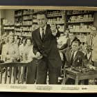 Herbert Marshall, Jayne Meadows, Steve Allen, Cathy Crosby, Ziva Rodann, and Mickey Shaughnessy in College Confidential (1960)