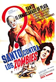 Santo vs. the Zombies Poster