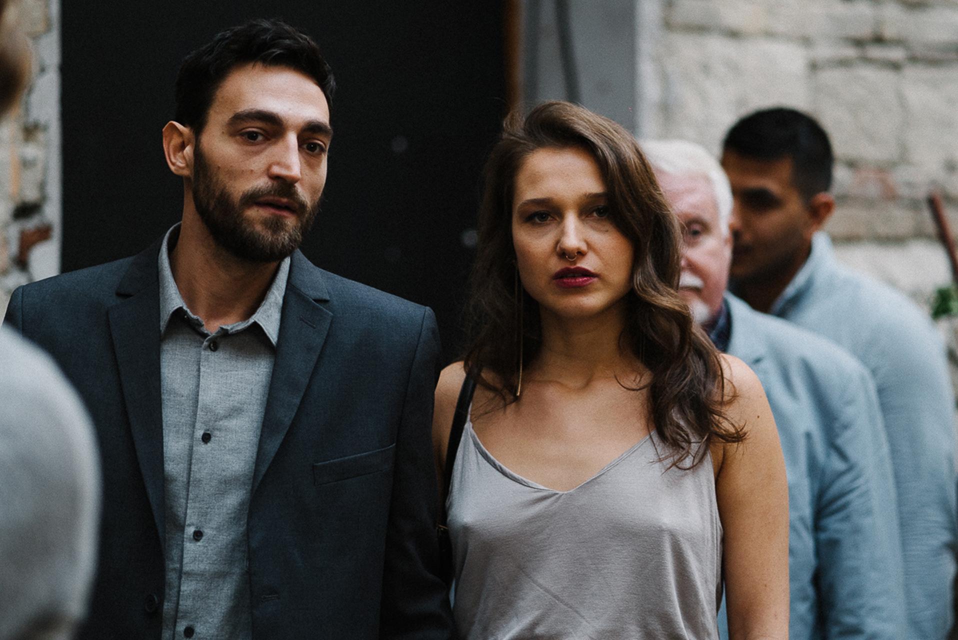 Bálint Zsigri and Andrea Waskovics in Balansz (2019)