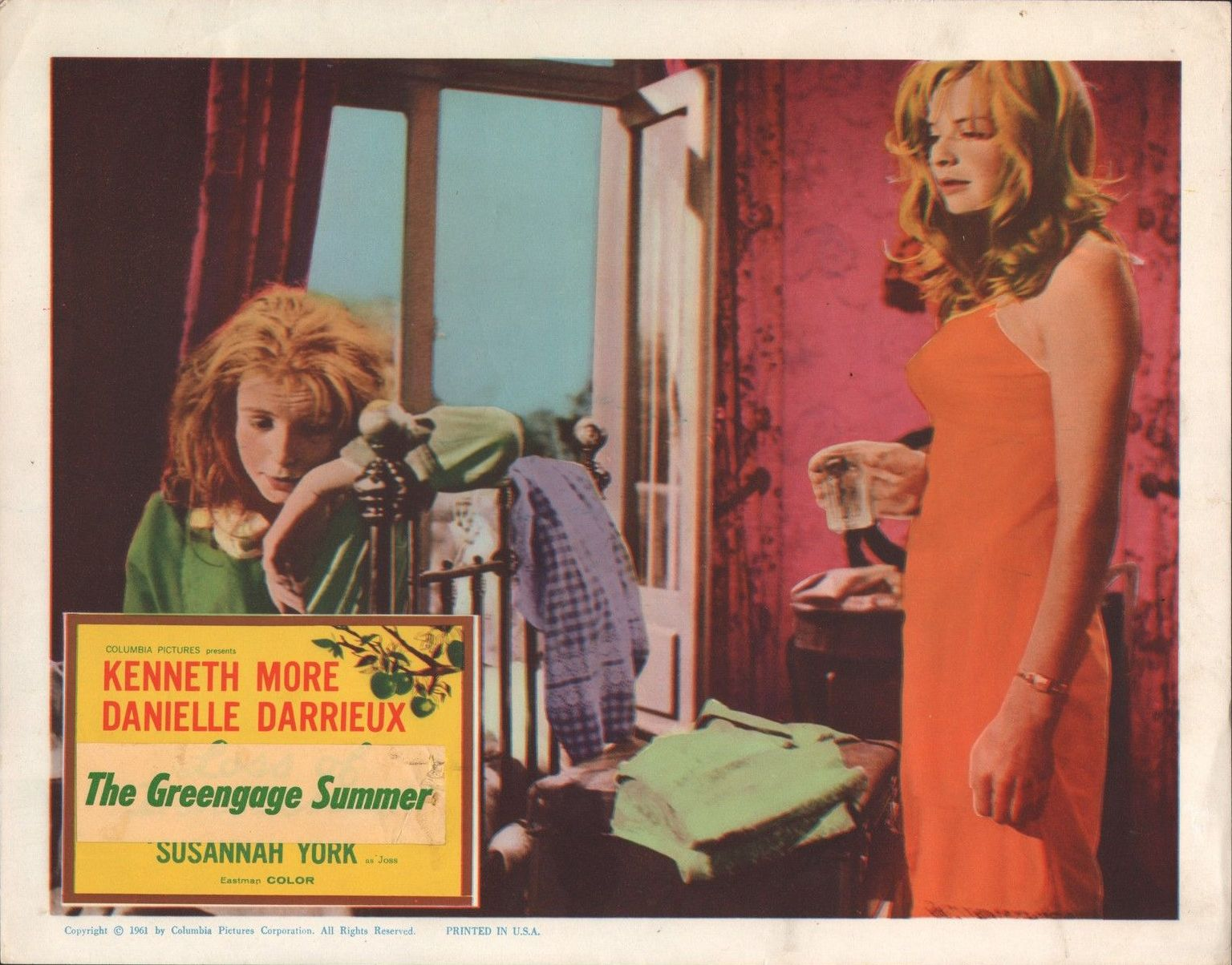 Jane Asher and Susannah York in The Greengage Summer (1961)