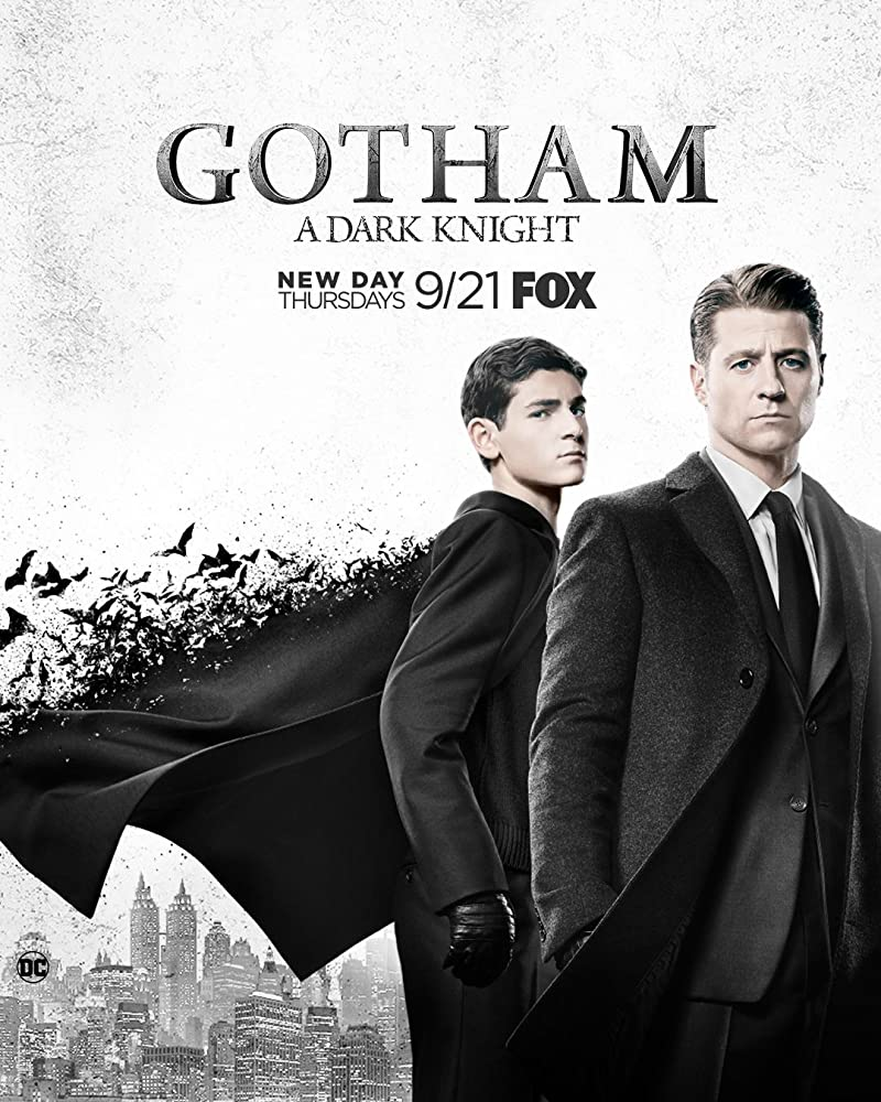Ben McKenzie and David Mazouz in Gotham (2014)