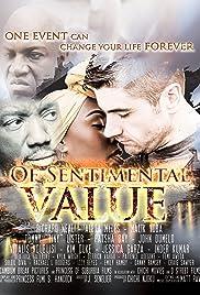 Of Sentimental Value Poster