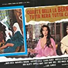 Fabio Garriba, Mariangela Giordano, and Marie Odile Riki in Quant'è bella la Bernarda, tutta nera, tutta calda (1975)