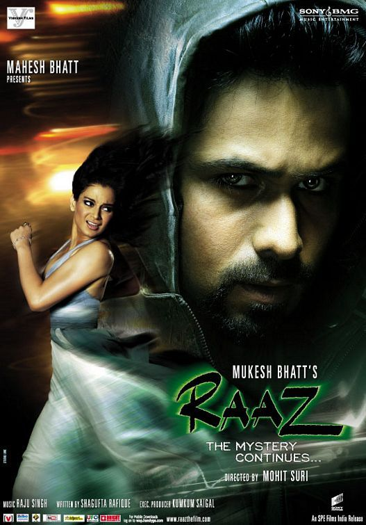 Raaz: The Mystery Continues (2009) Hindi Full Movie 480p, 720p Download