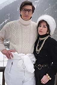 Lady Gaga and Adam Driver in House of Gucci (2021)