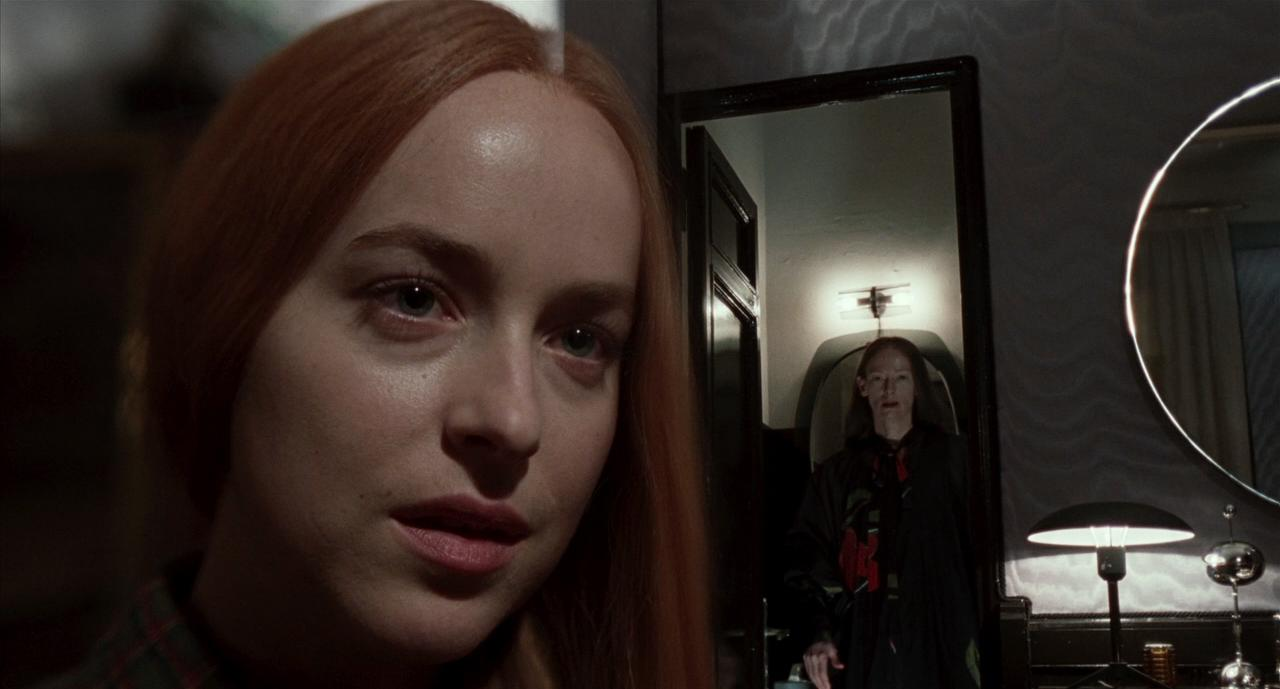Dakota Johnson and Tilda Swinton in Suspiria (2018)