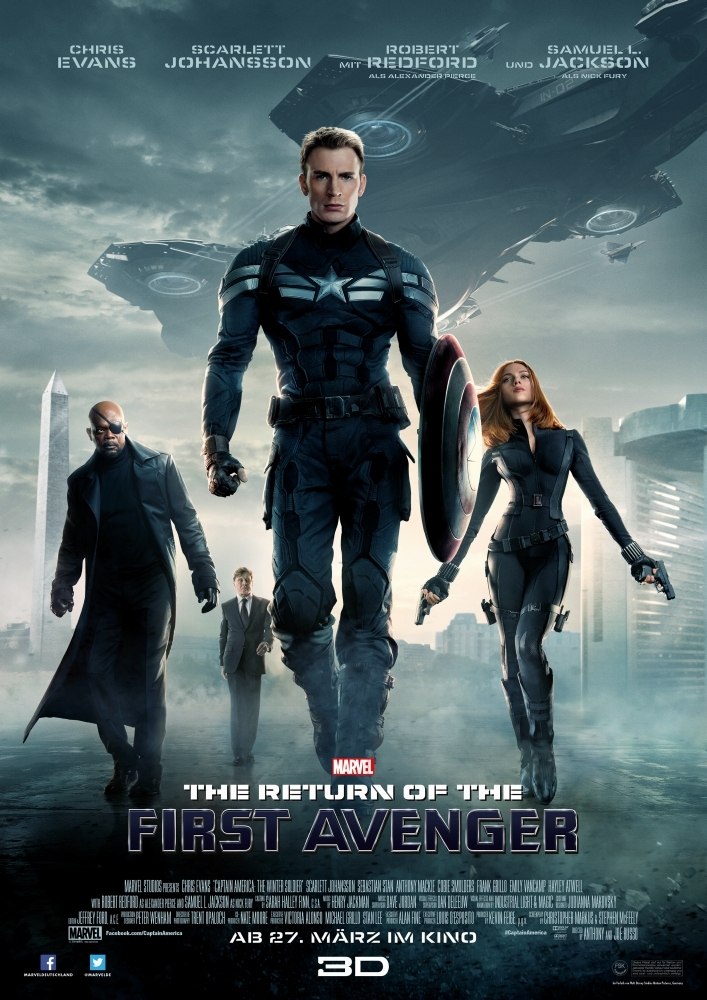 Captain America: The Winter Soldier (2014) Hindi Dubbed