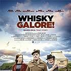 Gregor Fisher, Eddie Izzard, and Naomi Battrick in Whisky Galore (2016)
