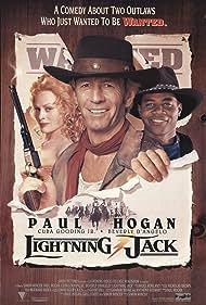 Beverly D'Angelo, Cuba Gooding Jr., and Paul Hogan in Lightning Jack (1994)