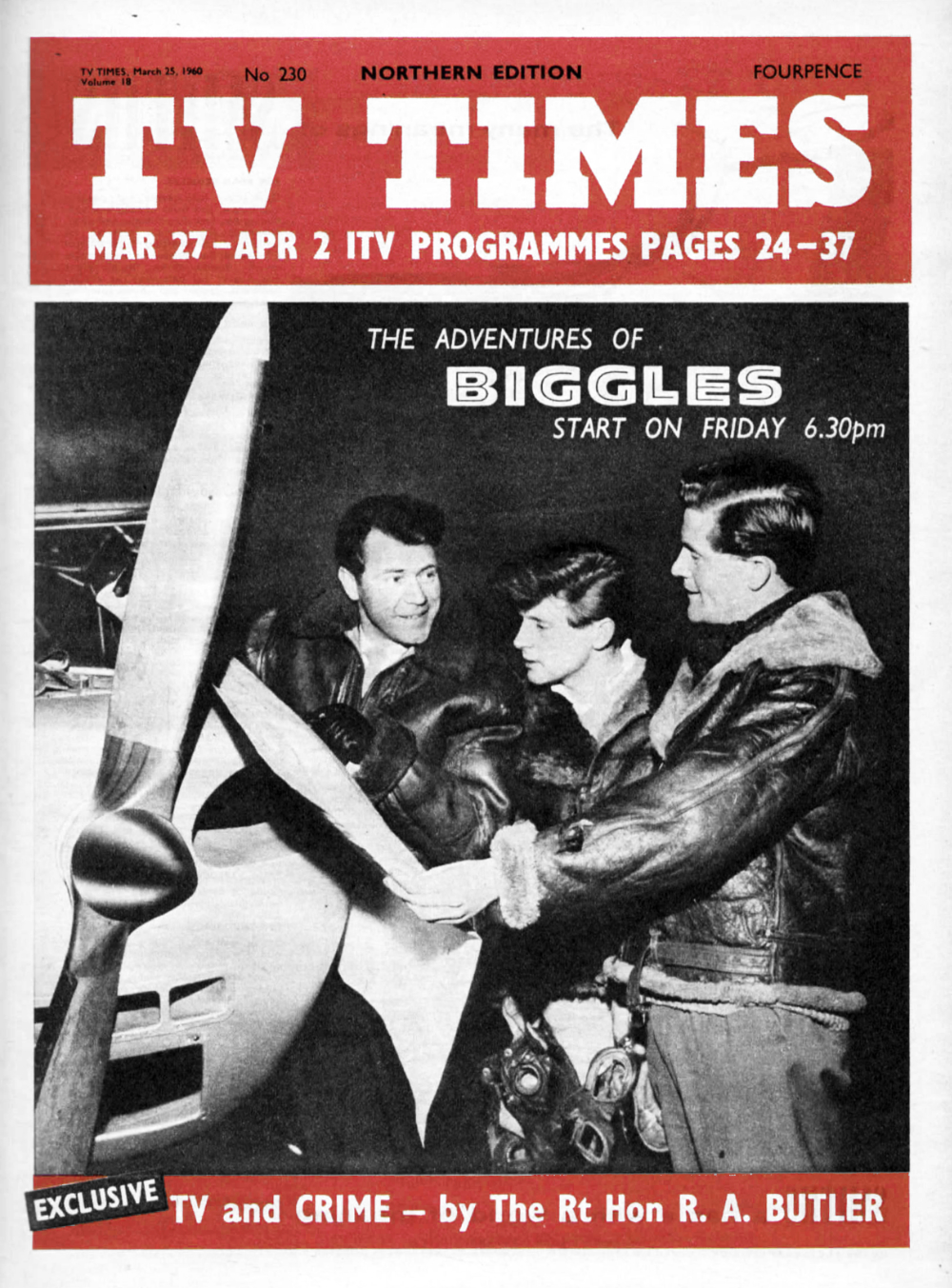 John Leyton, Neville Whiting, and David Drummond in Biggles (1960)