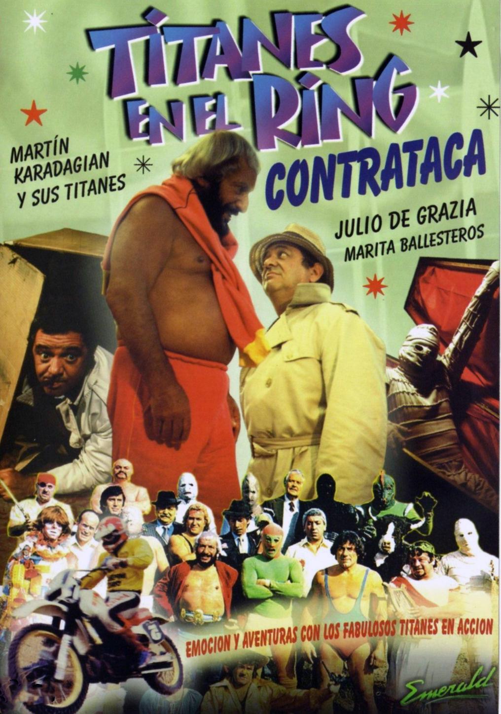 Titanes en el ring contraataca ((1983))