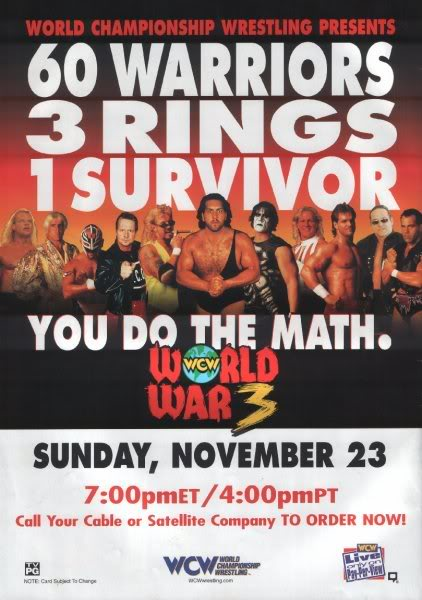 WCW World War 3 (1997) - IMDb