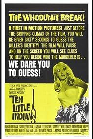 Ten Little Indians (1966) Poster - Movie Forum, Cast, Reviews
