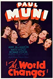 The World Changes (1933) Poster - Movie Forum, Cast, Reviews