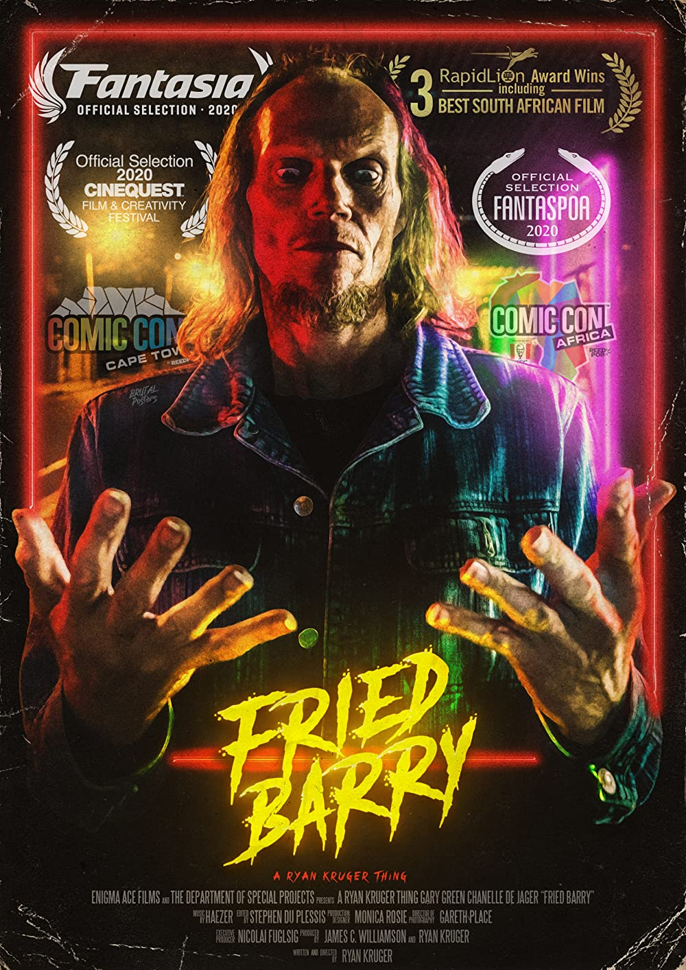 Fried Barry 2021 English 300MB HDRip ESubs Download