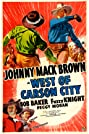 West of Carson City (1940) Poster