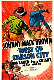 West of Carson City Poster