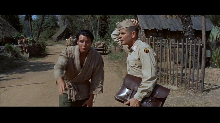 Marlon Brando and Glenn Ford in The Teahouse of the August Moon (1956)