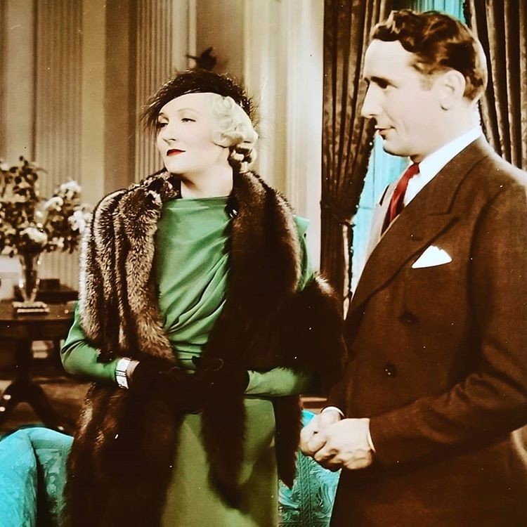 Victor Jory and Verree Teasdale in First Lady (1937)