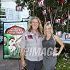 With actor William Shockley at the film premiere for A COUNTRY CHRISTMAS at the DeMille Theatre at Culver Studios