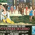 Tina Louise, Riccardo Garrone, and Kerwin Mathews in Saffo - Venere di Lesbo (1960)