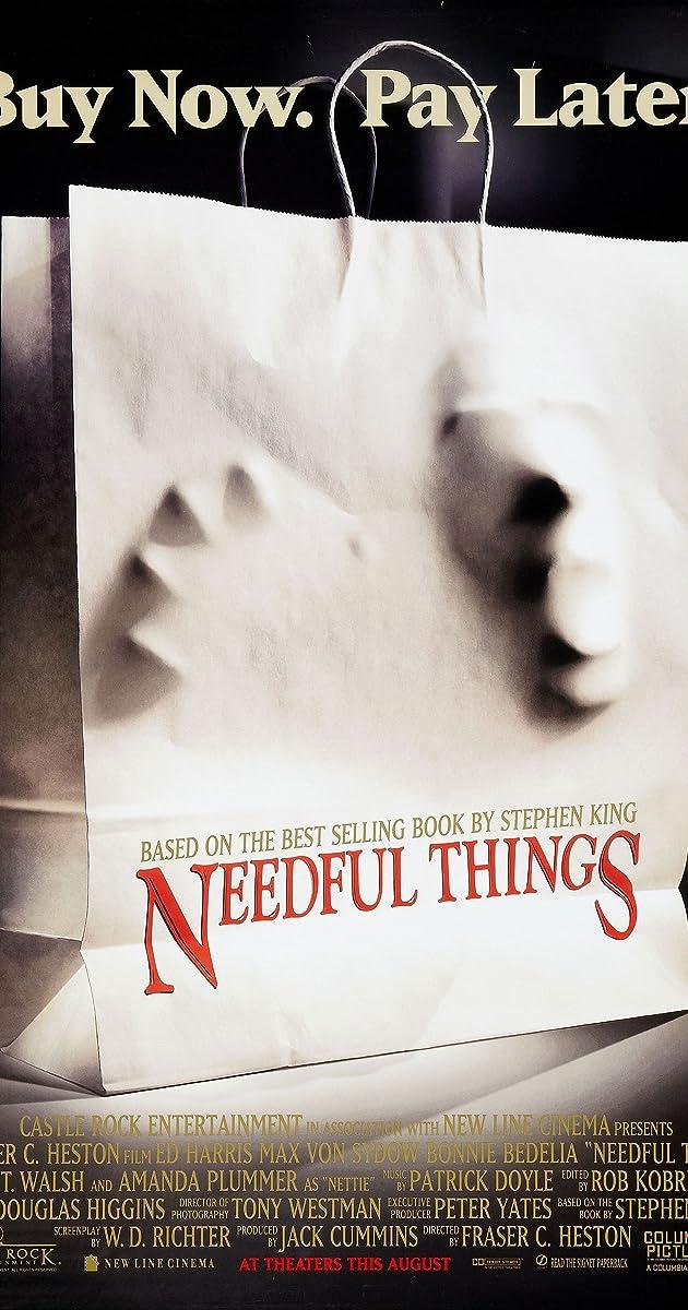 Subtitle of Needful Things