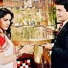 Rishi Kapoor and Meenakshi Sheshadri in Damini (1993)