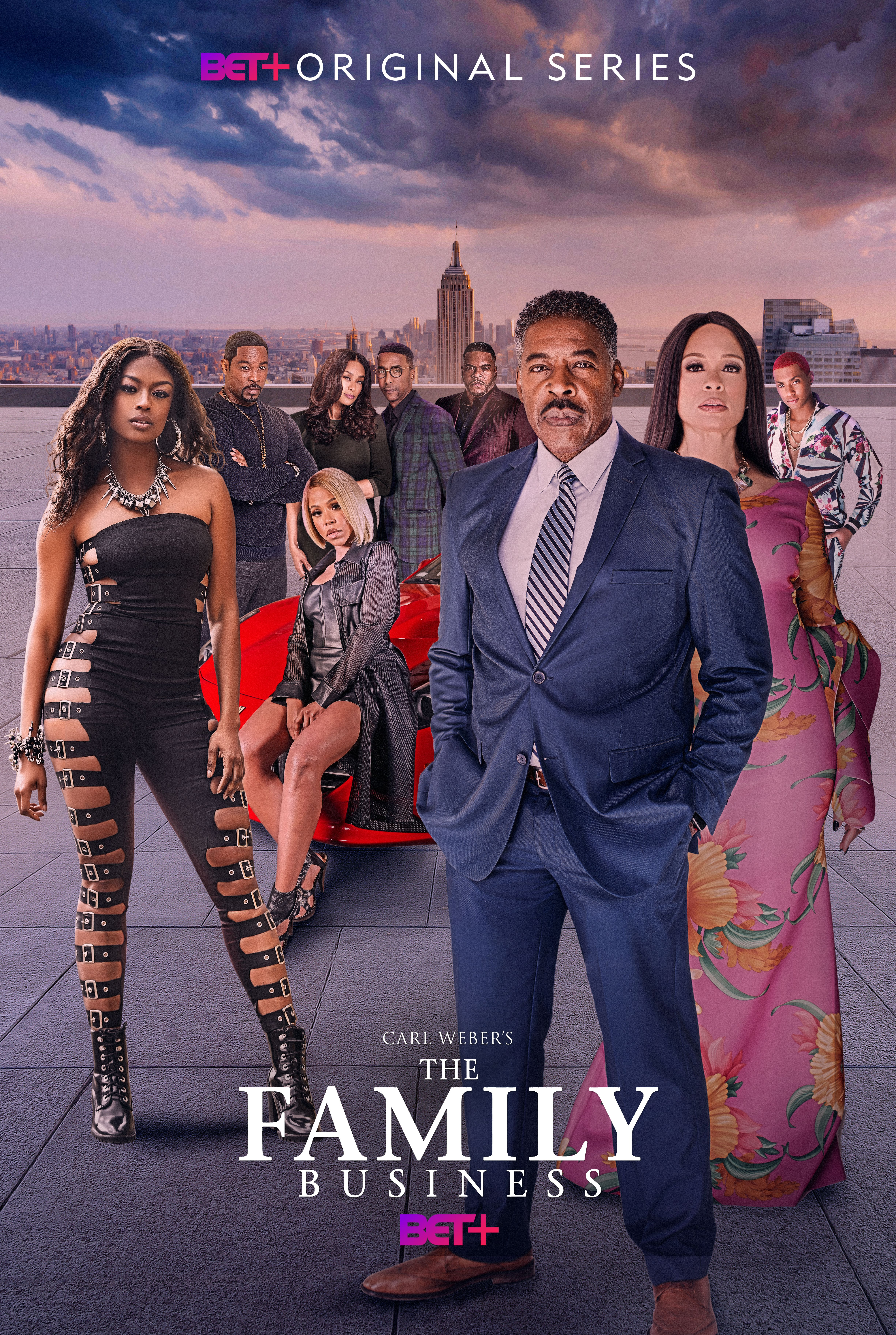 carl weber family business series on bet