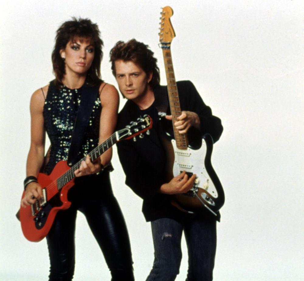 Michael J. Fox and Joan Jett in Light of Day (1987)
