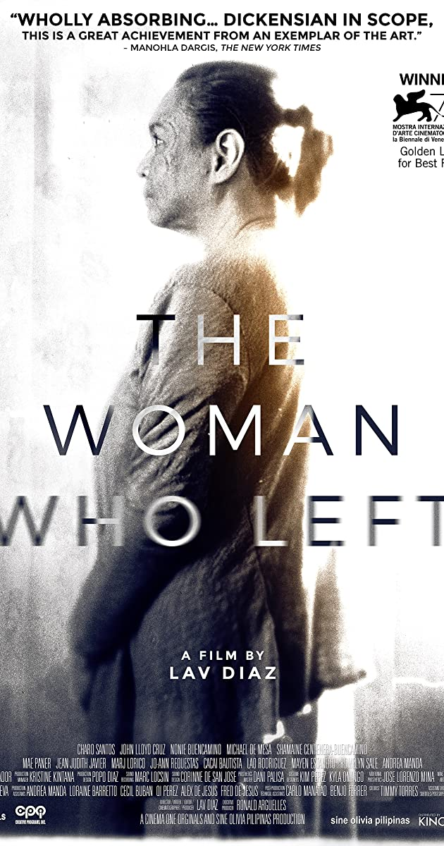 Subtitle of The Woman Who Left