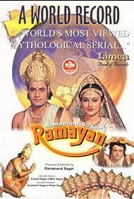Deepika Chikhalia, Dara Singh, Arvind Trivedi, Sanjay Jog, and Arun Govil in Ramayan (1987)