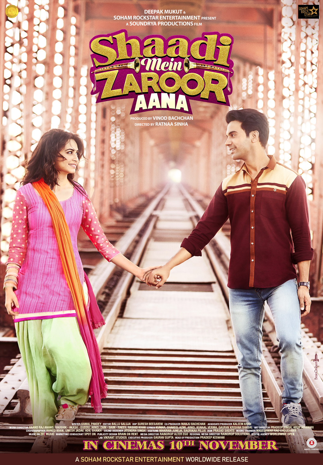 Shaadi Mein Zaroor Aana (2017) HDRip Hindi 720p 1.2GB || 480p 600MB || Download or Watch Online
