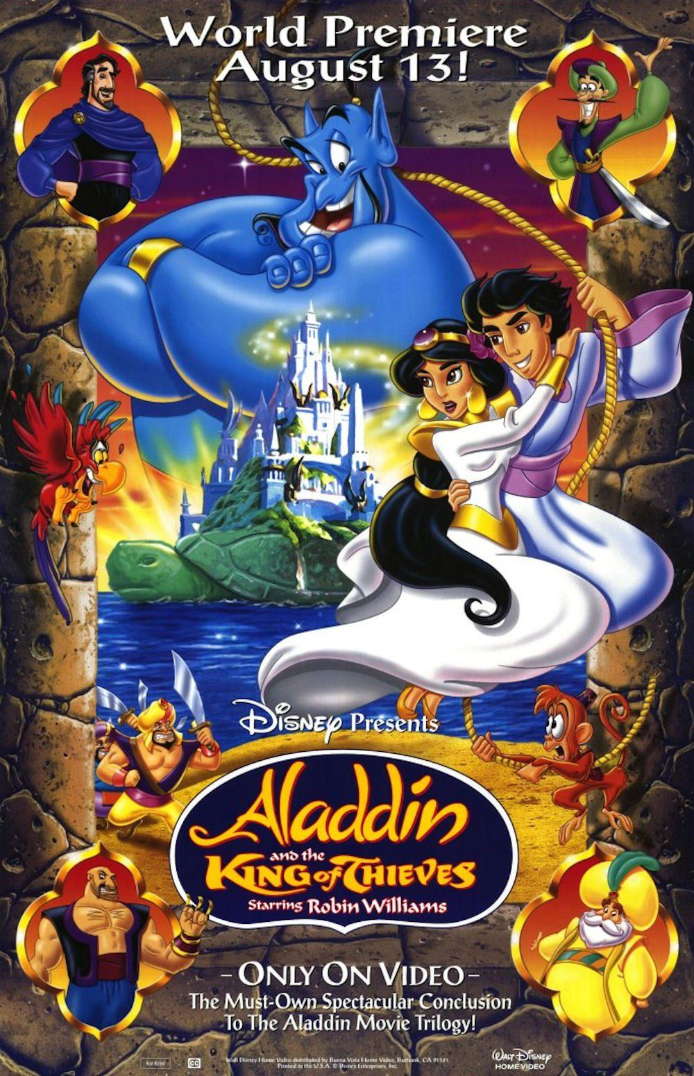 Aladdin And The King Of Thieves Video 1996 Imdb