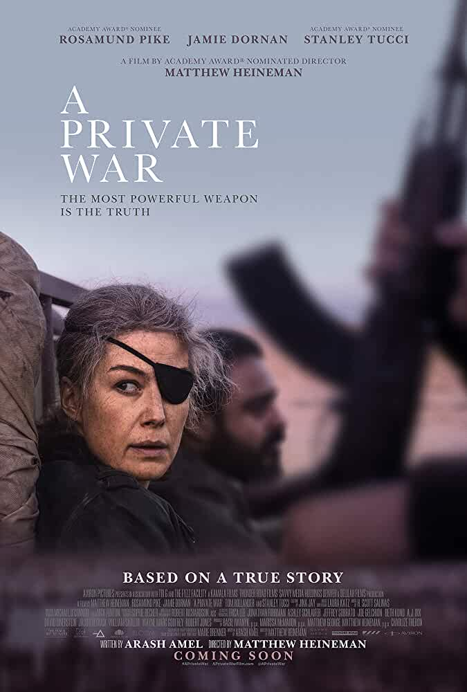 A Private War 2018 English Full Movie Watch Online Download 480p.BluRay [300.MB]