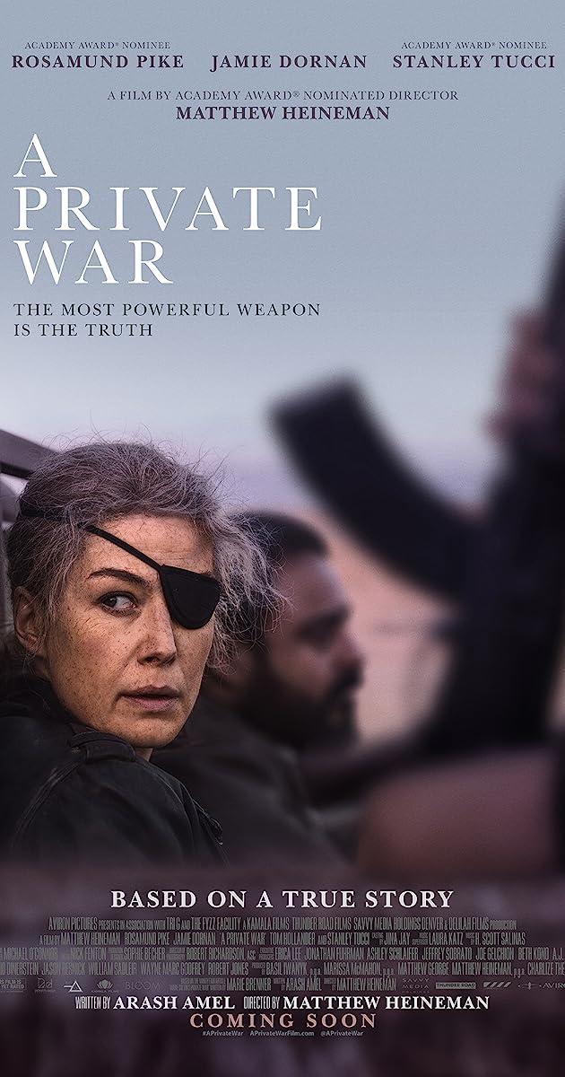 Subtitle of A Private War