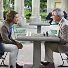 David Strathairn and Brenton Thwaites in An Interview with God (2018)